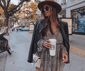 blogger, dress, and street wear image
