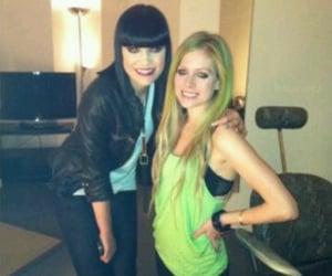 Avril Lavigne and jessie j image
