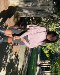 fall, fashion, and skirts image