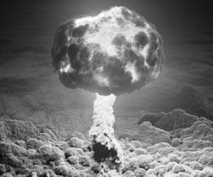 surrealism, bomb, and aesthetic image