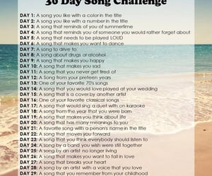 article, soundtrack to my life, and 30 day song challenge image