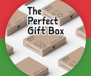 advent calendar, minimalist, and white gift box image