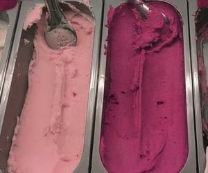 ice cream, red, and aesthetic image