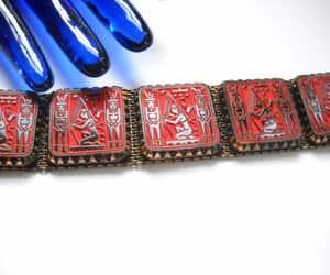 boho bracelet, vintage bracelet, and egyptian revival image