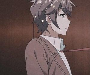 anime, brown, and bunny image