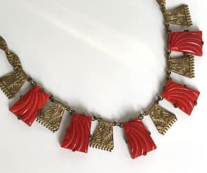 art deco jewelry, holiday presents, and vintage gift for her image
