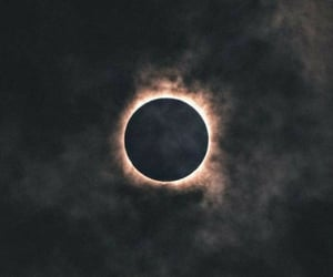 eclipse, night, and sky image