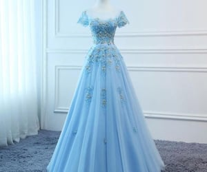 ball gown, dress, and gown image