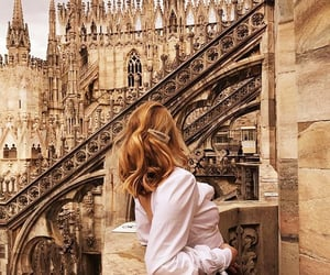 architecture, fashion, and girl image