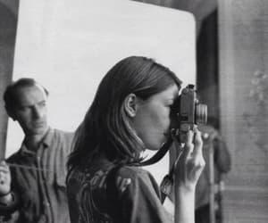 Sofia Coppola, black and white, and photography image