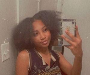 selfie, black girl magic, and naturalhair image