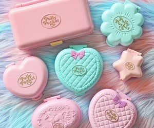 cotton candy, polly pocket, and i miss my childhood image