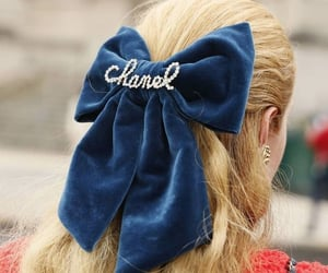 bow, hair accessories, and chanel image