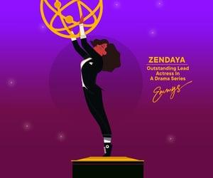 actress, euphoria, and zendaya image