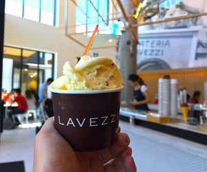 cakes, coffee shop, and gelato image