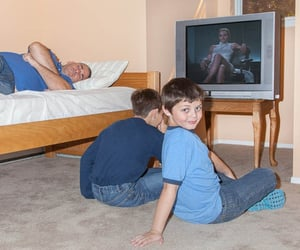 дети, юмор, and маленькие дети image