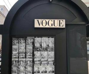 fashion, vogue, and black image