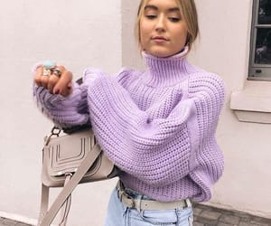 chic, fashion, and lilac image
