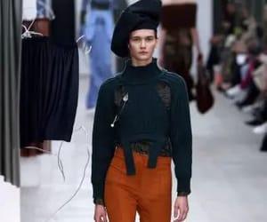 brown, fashion, and fashion week image