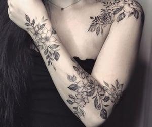 aesthetic, black, and tatuaje image