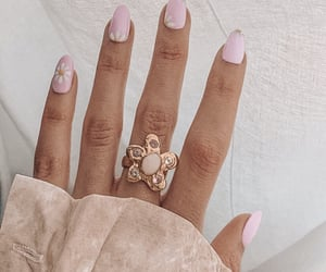 nails, purple, and ring image