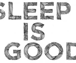 sleep, good, and text image