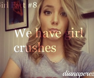 girl crushes, girl facts, and jenna marbles image