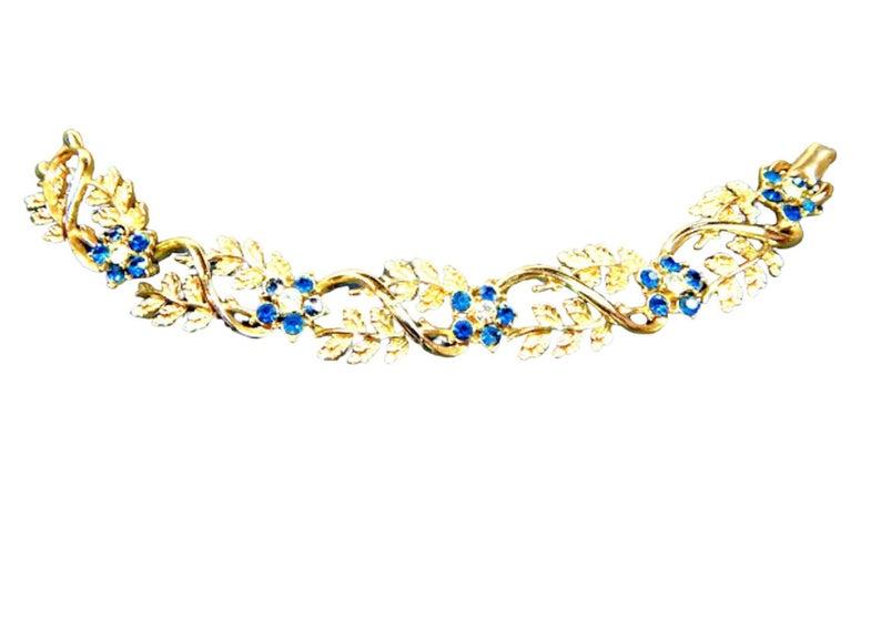 bridal jewelry, rhinestone jewelry, and floral rhinestone image
