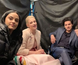 riverdale, camilamendes, and colesprouse image
