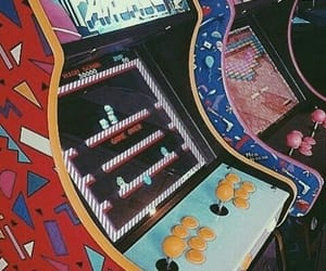 80s, arcade, and 90s image