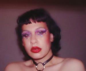 dark makeup, vintage makeup, and editorial makeup image