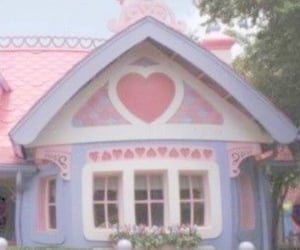 cottage, pastel, and pink image
