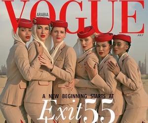 DELTA, emirates, and stewardess image