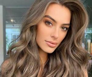 ash, hair color, and ash brown image