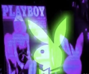 aesthetic, Playboy, and green image