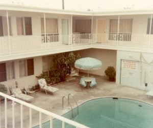aesthetic, motel, and old image