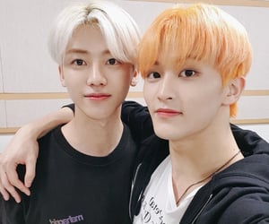 kim jungwoo and zhong chenle image