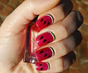 watermelon, nailart, and deesnaillooks image