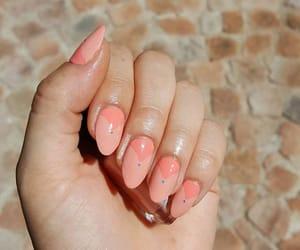 nailart, peachnails, and deesnaillooks image