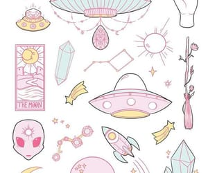 autum, pink, and aliens image
