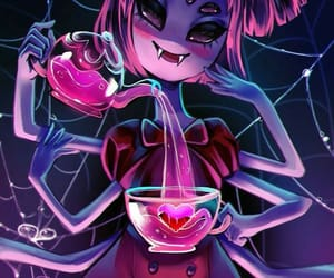 spider, muffet, and spooky image