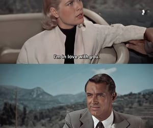 classic hollywood, cary grant, and thriller image
