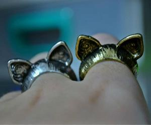 accessories, ears, and rings image