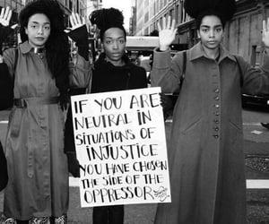 black lives matter, justice, and injustice image