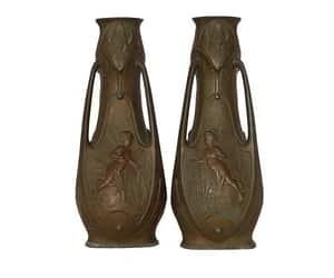 belle epoque, etsy, and antique vase image