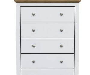 white chest of drawers, white drawers, and tall chest of drawers image