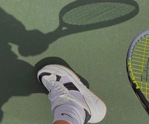 aesthetic, sport, and tennis image