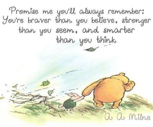 piglet, quotes, and believe in yourself image