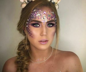 aesthetic, beautiful, and makeup image