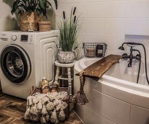 apartment, bath, and bathroom image